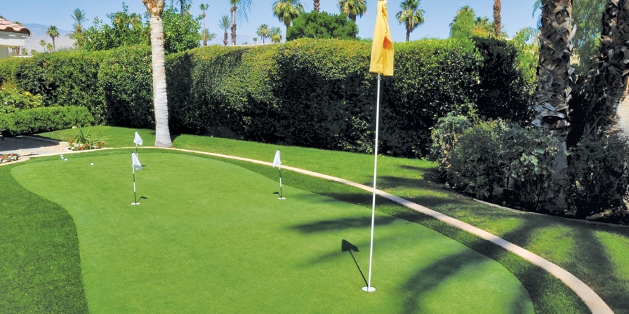Palm Springs Putting Greens — Synthetic Grass Lawns and Putting Greens thumbnail image